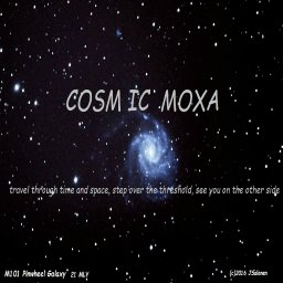 FALLING THROUGH SPACE COSMIC MOXA JAZZ